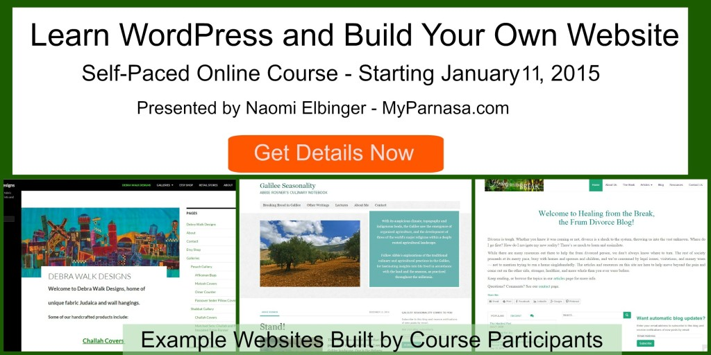 learn and build your own website with
